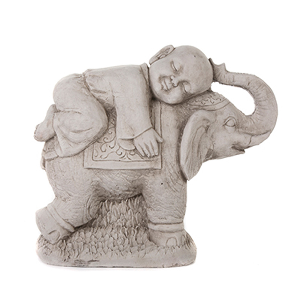 elephant garden statue medium metal elephant statue. Black Bedroom Furniture Sets. Home Design Ideas
