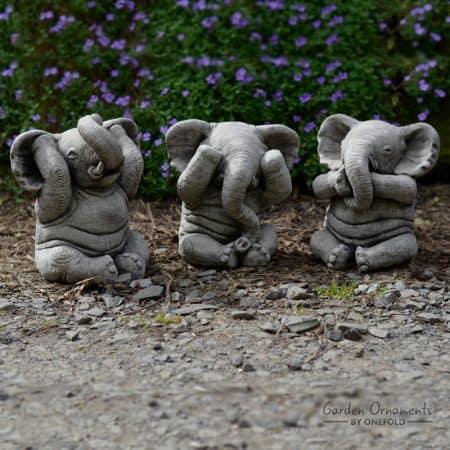 Elephant Garden Statue